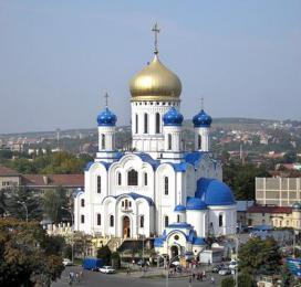 Užhorodská katedrála Krista Spasitele