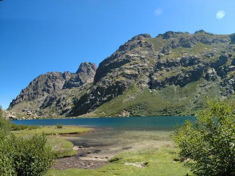 Údolí Restonica je přitažlivé svou panenskou přírodou
