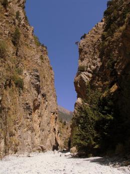 Více než 12 km dlouhá soutěska Samariá