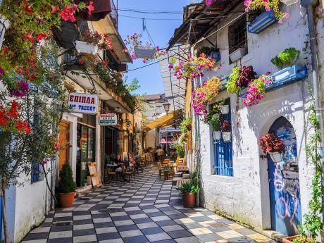 Malebné uličky řeckého města Ioannina