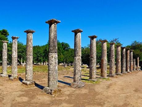 Palaistra v Olympii - místo, kde trénovali nejslavnější sportovci