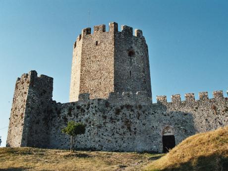 Křižácký hrad Platamonas
