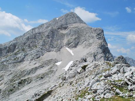2 332 m vysoká Mala Mojstrovka