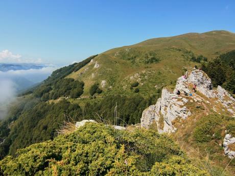 Vyhlídka Bendovac v národním parku Biogradska Gora