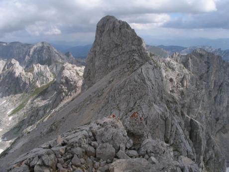 Impozantní vrchol Bobotov Kuk
