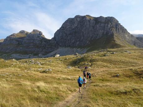 Túra národním parkem Durmitor na severu Černé Hory