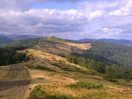Salaše v pohoří Komovi