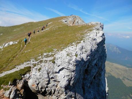 Túru na vrchol Kom Vasojevički doprovází krásné výhledy