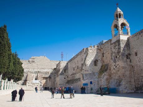 Chrám Narození Páně v Betlémě, jedna znejstarších křesťanských svatyní