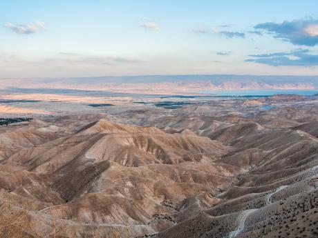Značnou část izraelského území tvoří pouště