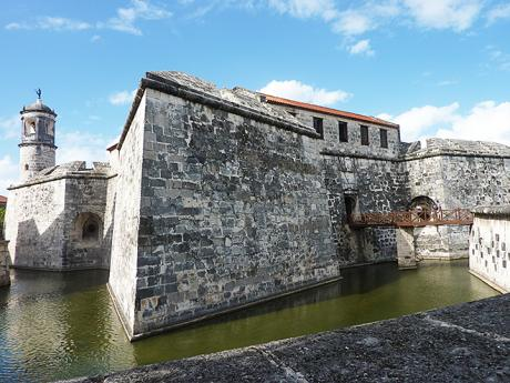 Pevnost Real Fuerza kdysi chránila přístup do zátoky Bahía de La Habana