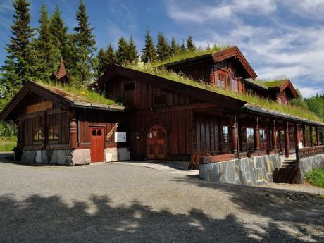 V Norsku narazíte na různé druhy tradiční architektury