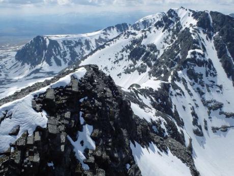 Skvělým výhledem se chlubí hora Veslesmeden