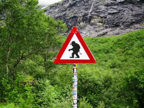 VNorsku je potřeba si dát pozor hlavně na trolly ;-)