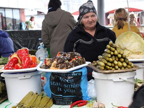 Na tržišti v Kišiněvě