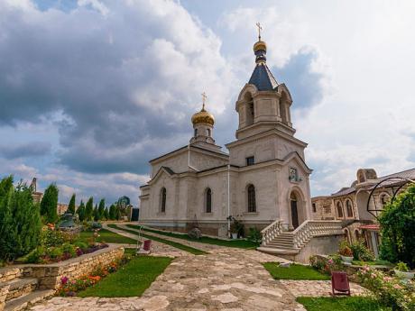 Moldavský klášterní komplex Orheiul Vechi