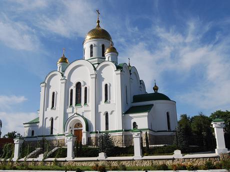 Ruský pravoslavný kostel v Tiraspolu