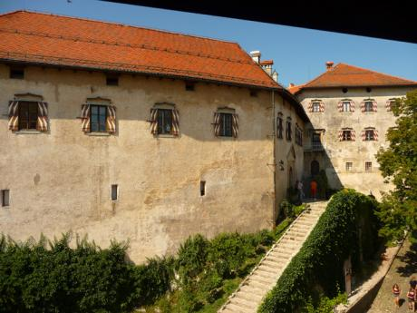 Zdi bledského hradu