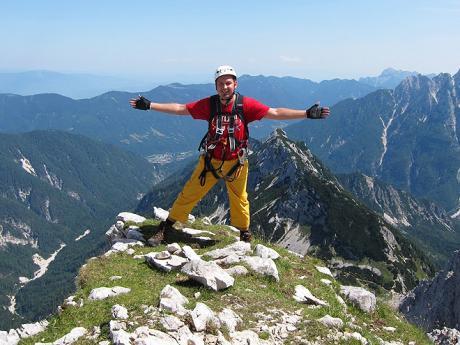 Spokojenost nad panoramaty Julek :-)