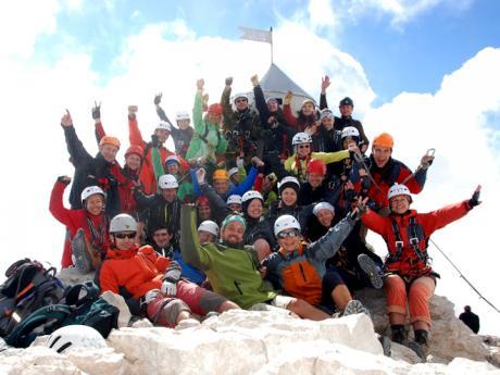 Na nejvyšším slovinském vrcholu
