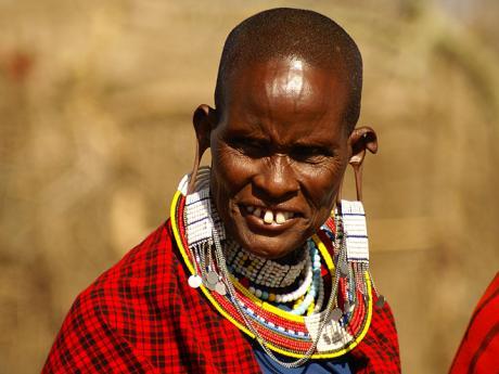 Masajka v NP Serengeti