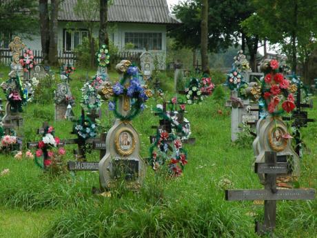 Zakarpatský pravoslavný hřbitov
