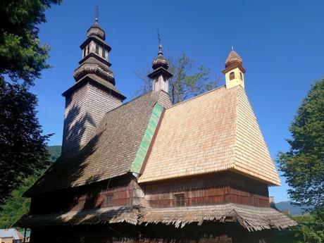 Kostel svatého Ducha v Koločavě také sloužil jako muzeum ateismu