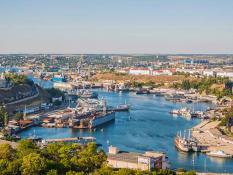 Výhled na město Sevastopol